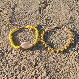 Summer macrame bracelet set with white shell and yellow glass beads Code: SHELLS4001 Price: From 9€ to 6.20€ only  ______________________________ Καλοκαιρινό μακραμέ σετ βραχιολιών με κοχύλι και κίτρινες γυάλινες χάντρες Κωδικός: SHELLS4001 Τιμή: Από 9€ μόνο 6.20€ ______________________________ #jcmacrame #juliascollection #macrame #macrameshell #shell  #macramejewelry #shells #macramebracelet #bracelet #braceletoftheday #macramelove #macramedesign #white #whiteshell #yellowjewelry #yellowmacrame #loveyellow #yellow #yellowonly #loveit #❤️