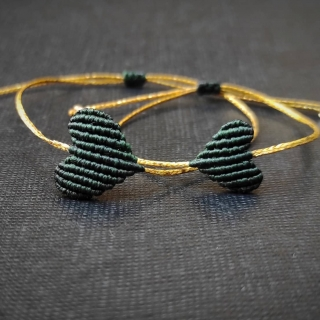 Gold macrame mum and daughter set with dark green heart Code: GS1010 ______________________________ Χρυσό μακραμέ σετ μαμά κόρη σε σκούρο πράσινο χρώμα Κωδικός: GS1010 ______________________________ #jcmacrame #juliascollection #macrame #hearts #macramehearts #macramejewelry #macramebracelet #bracelet #braceletoftheday #macramelove #macramedesign #green #greenmacrame #greenheart #greenonly #loveit #❤️ #greenset #darkgreen #mumanddaughter #daughter #macrameset