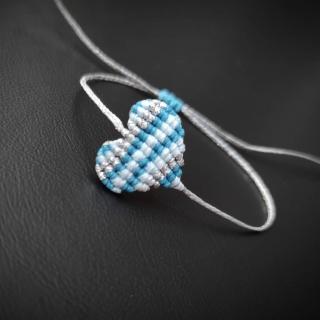 'Rails' three colors macrame heart in light blue and silver  Code: RBHE1001 Price: 7,20€ ______________________________ Μακραμέ βραχιόλι καρδιά 'rails' σε γαλάζιο και ασημί χρώμα  Κωδικός: RBHE1001 Τιμή: 7,20€ ______________________________ #jcmacrame #juliascollection #macrame #macramejewelry #macramebracelet #handmade #handmadejewelry #women #men #unisex #unisexjewelry #shopping  #shoppingonline #silver #lightblue #blue #babyblue #heart #❤️ #blueheart