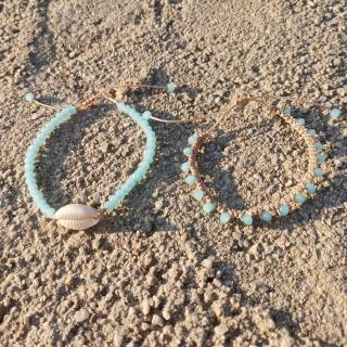 Summer macrame bracelet set with white shell and light blue glass beads Code: SHELLS4008 Price: From 9€ to 6.20€ only  ______________________________ Καλοκαιρινό μακραμέ σετ βραχιολιών με κοχύλι και γαλάζιες γυάλινες χάντρες Κωδικός: SHELLS4007 Τιμή: Από 9€ μόνο 6.20€ ______________________________ #jcmacrame #juliascollection #macrame #macrameshell #shell  #macramejewelry #shells #macramebracelet #bracelet #braceletoftheday #macramelove #macramedesign #white #whiteshell #bluejewelry #bluemacrame #loveblue #blue  #blueonly #navyblue #lightblue #babyblue #loveit #❤️