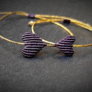 Gold macrame mum and daughter set with dark purple heart Code: GS1003 ______________________________ Χρυσό μακραμέ σετ μαμά κόρη σε σκούρο μωβ χρώμα Κωδικός: GS1003 ______________________________ #jcmacrame #juliascollection #macrame #hearts #macramehearts #macramejewelry #macramebracelet #bracelet #braceletoftheday #macramelove #macramedesign #purple #darkpurple #purpleheart #purplwemacrame #purpleonly #loveit #❤️ #purpleset #mumanddaughter #daughter #macrameset